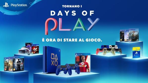 offerte ps4 days of play