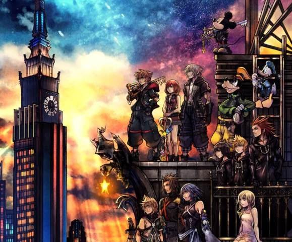 Kingdome Hearts 3 cover